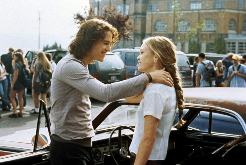 salah satu scene di film 10 Things I Hate About You
