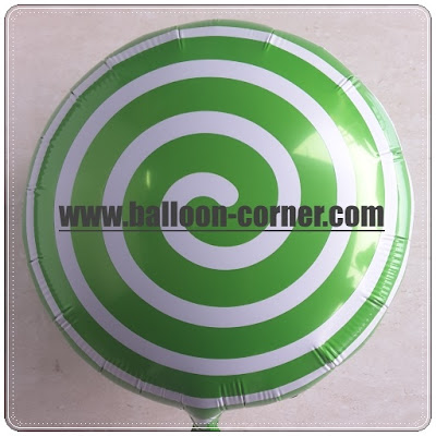 Balon Foil Bubble Round