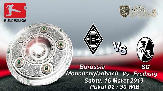 Prediksi Borussia Monchengladbach Vs Freiburg, Sabtu 16 Maret 2019 Pukul 02.30 WIB