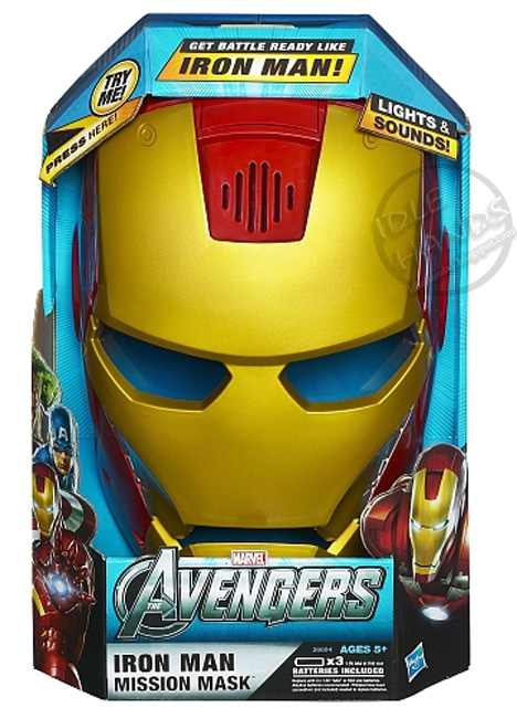 Idle Hands: Toy Fair 2012 : More Avengers Toy Images