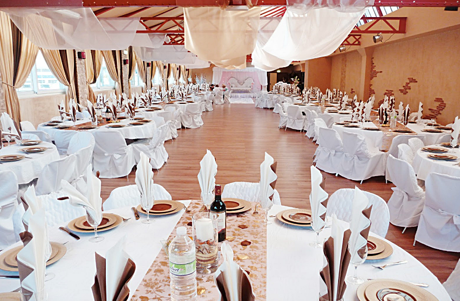 decoration salle mariage luxe