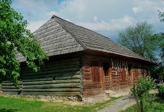 Ужгород. Музей народної архітектури та побуту. Корчма