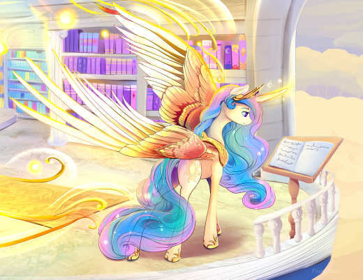 Princess Celestia Close Up