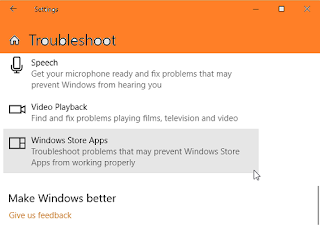 reset windows-store app reset