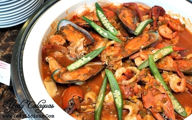 Seafood Gumbo United Taste of America at F1 Hotel Manila