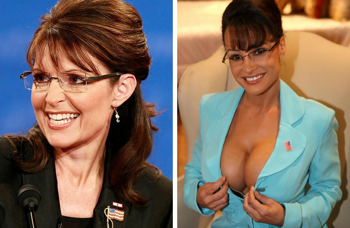 Sarah palin pornstar look a like, nude midget girls nasty