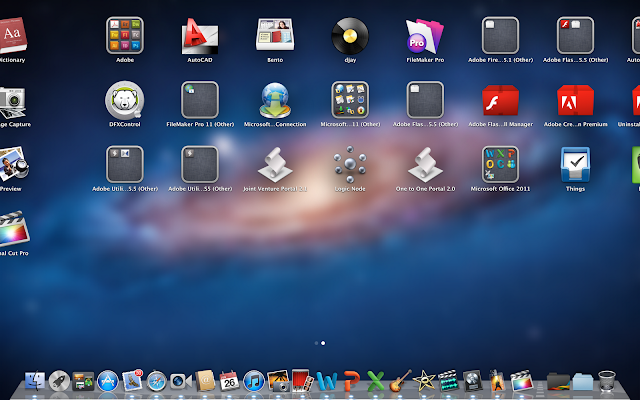 multitasking with 17 programs on the new lightening fast macbook pro