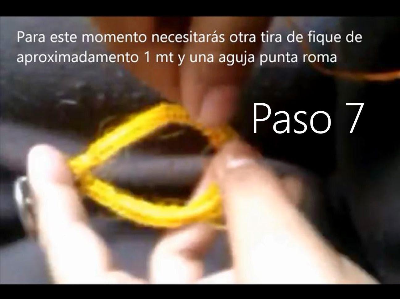 Llavero Lagrima Paso 7