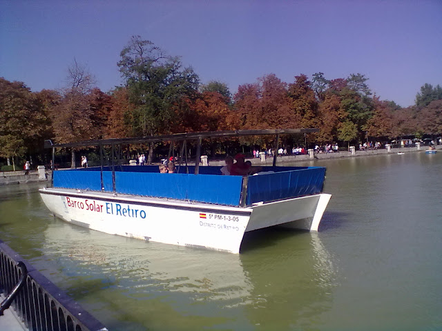 Conoces el barco Solar del parque del Retiro