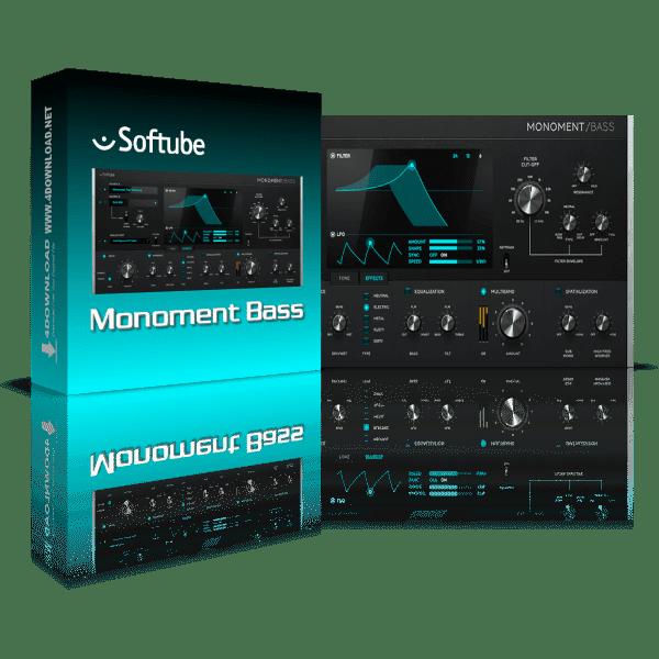 Softube Monoment Bass v2.5.9 Full version