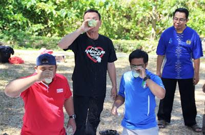 Pak Djams at Gathering Lombongo