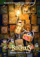 pelicula Los Boxtrolls (2014)