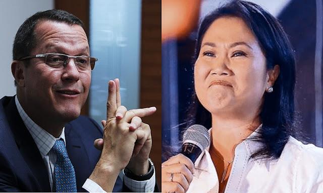 Jorge Barata ratifica aporte de 1 millón de dólares a Keiko Fujimori