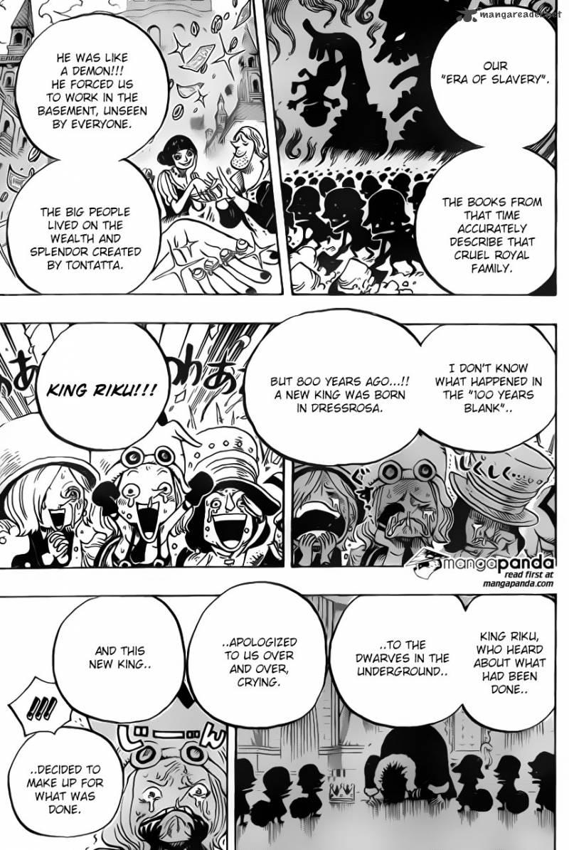 One Piece Ch 726: The Riku Tribe