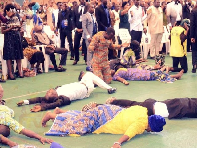 Divine Favour As Apostle Suleman's Crusade Rocks Benin Republic