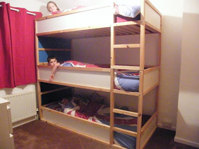 There Are Triple Bunk Beds That Provide The Option Of Separating And Using Them As Stand Alone Units This Is A Useful If You Have