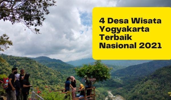4 Desa Wisata Yogyakarta Masuk 50 Terbaik Nasional Kemenparekraf RI