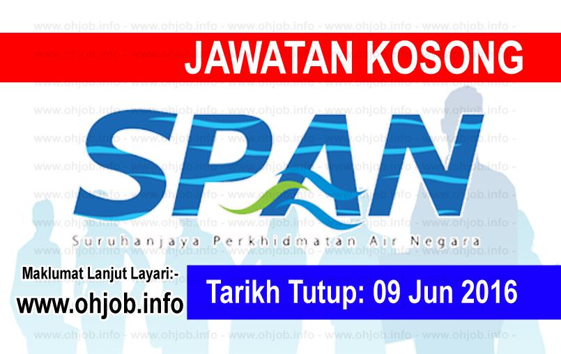 Jawatan Kerja Kosong Suruhanjaya Perkhidmatan Air Negara (SPAN) logo www.ohjob.info jun 2016