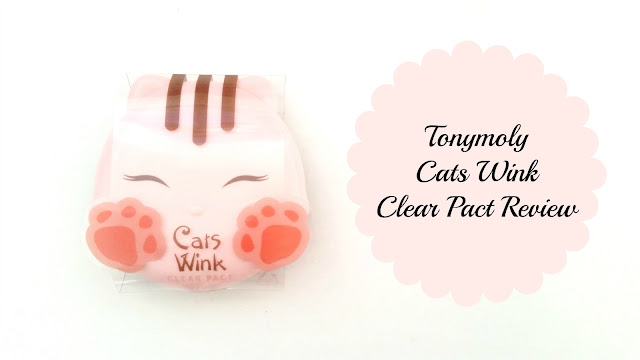 Tonymoly Cats Wink Clear Pact Review & Giveaway!