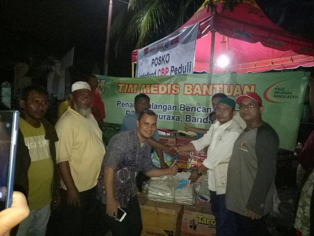 Bantu Korban Gempa Pijay, Pemko Banda Aceh Salurkan Bantuan