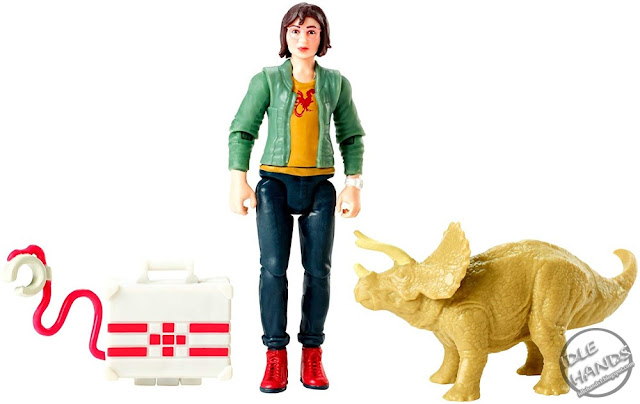 Mattel Jurassic World Toys Zia and Triceratops 01