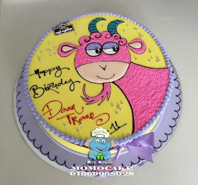 bánh sinh nhật hình con dê