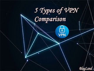 5 Types Of VPN Comparison – You Should Know