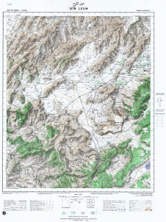 Ain Leuh Morocco 50000 (50k) Topographic map free download