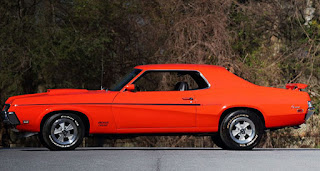 1969 Mercury Cougar Boss 302 Side Left