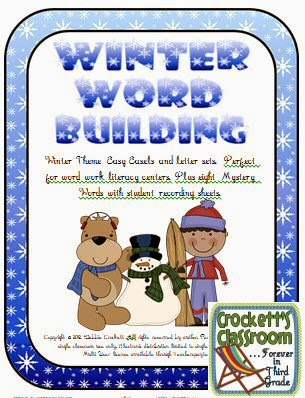 Winter Word Building--Crockett's Classroom