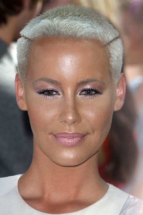 Groovy Cool And Cool Amber Rose Short Hairstyles Gunalazisus
