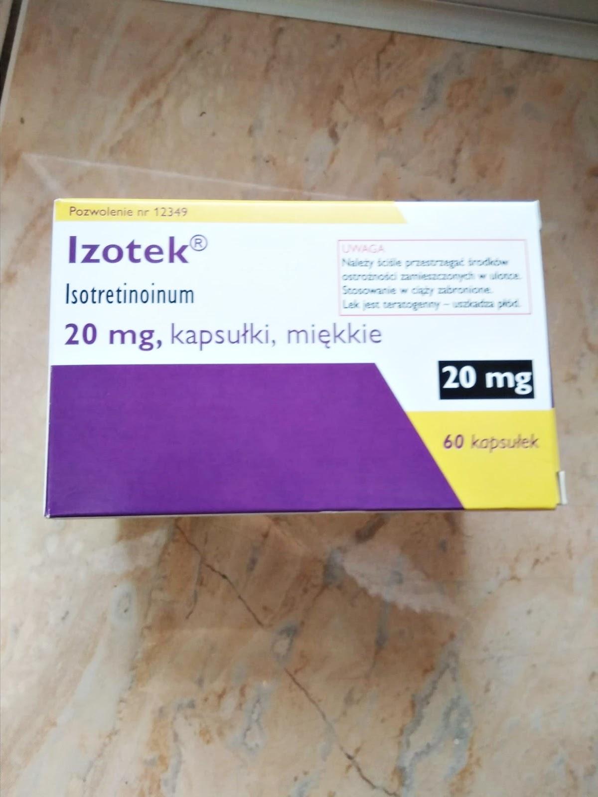 izotek tabletki efekty