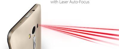 Fitur Laser Auto-Focus