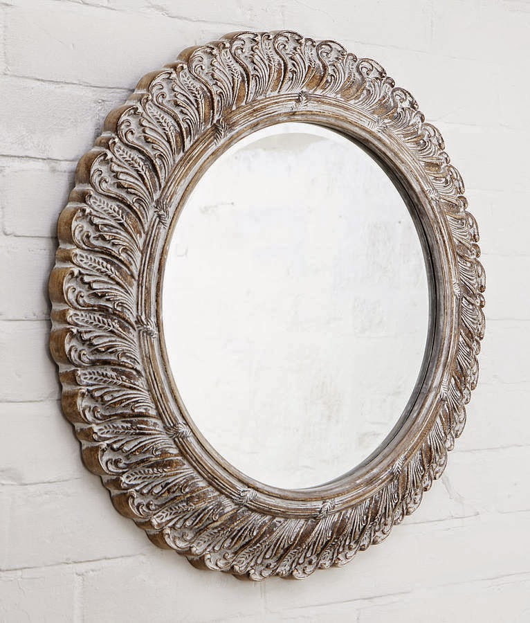 10 espejos vintage para una decoraci n de poca - Espejos cuadrados grandes ...