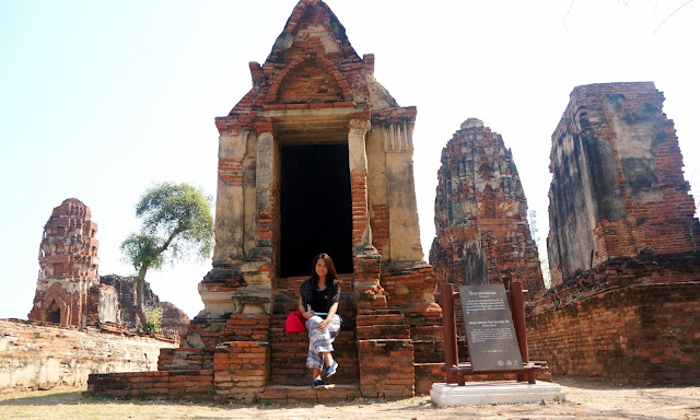 ayutthaya ruins Thailand