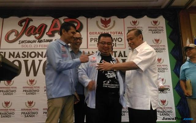 Deklarasi di Solo, Relawan Gatot Nurmantyo Alihkan Dukungan untuk 02