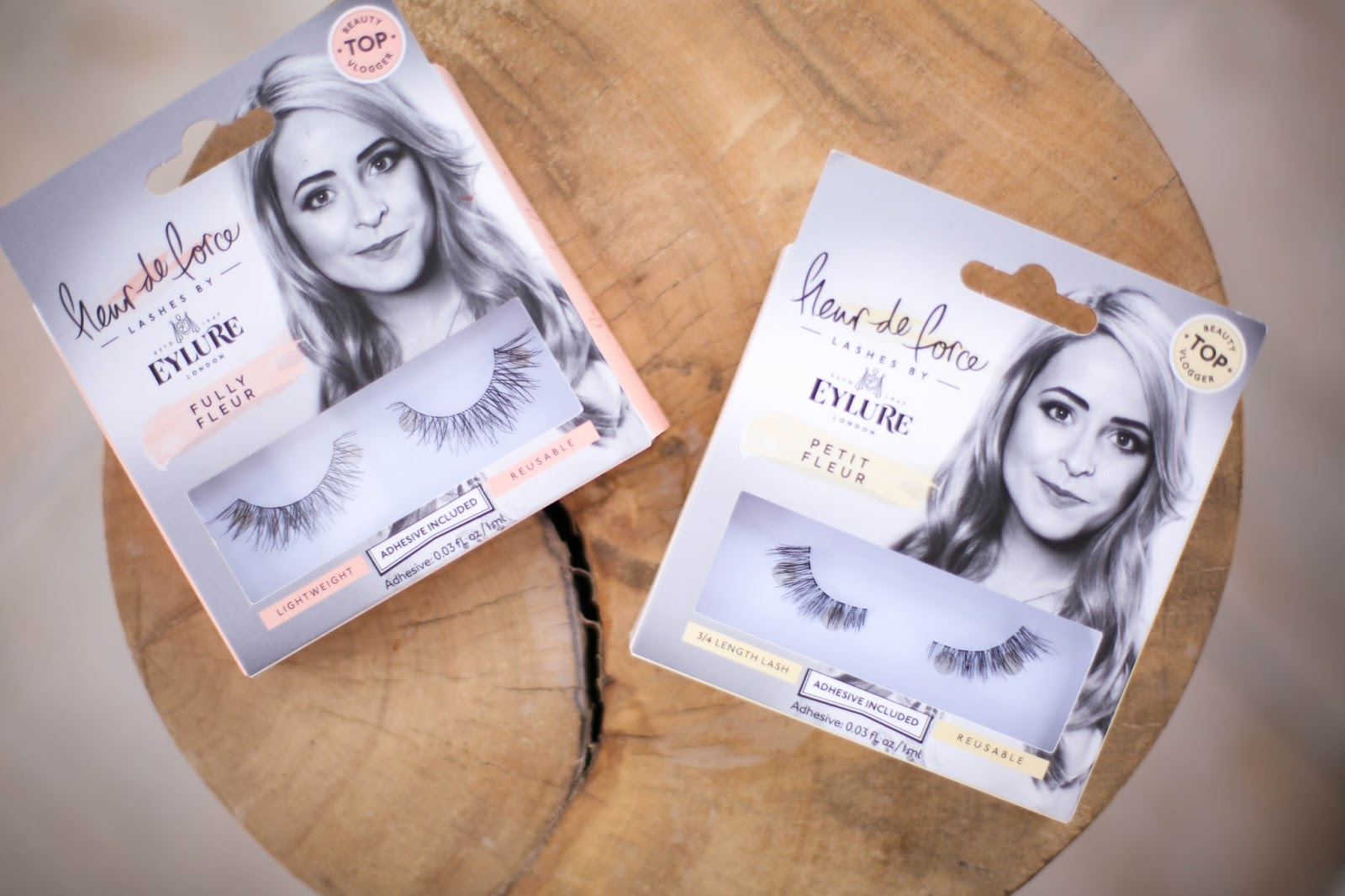 My NEW Lashes: Fully Fleur & Petit Fleur