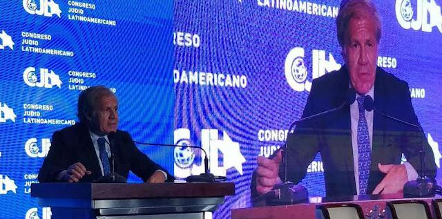 "Almagro a Asamblea venezolana: ""Si no acatan al TSJ son cómplices de Maduro"""