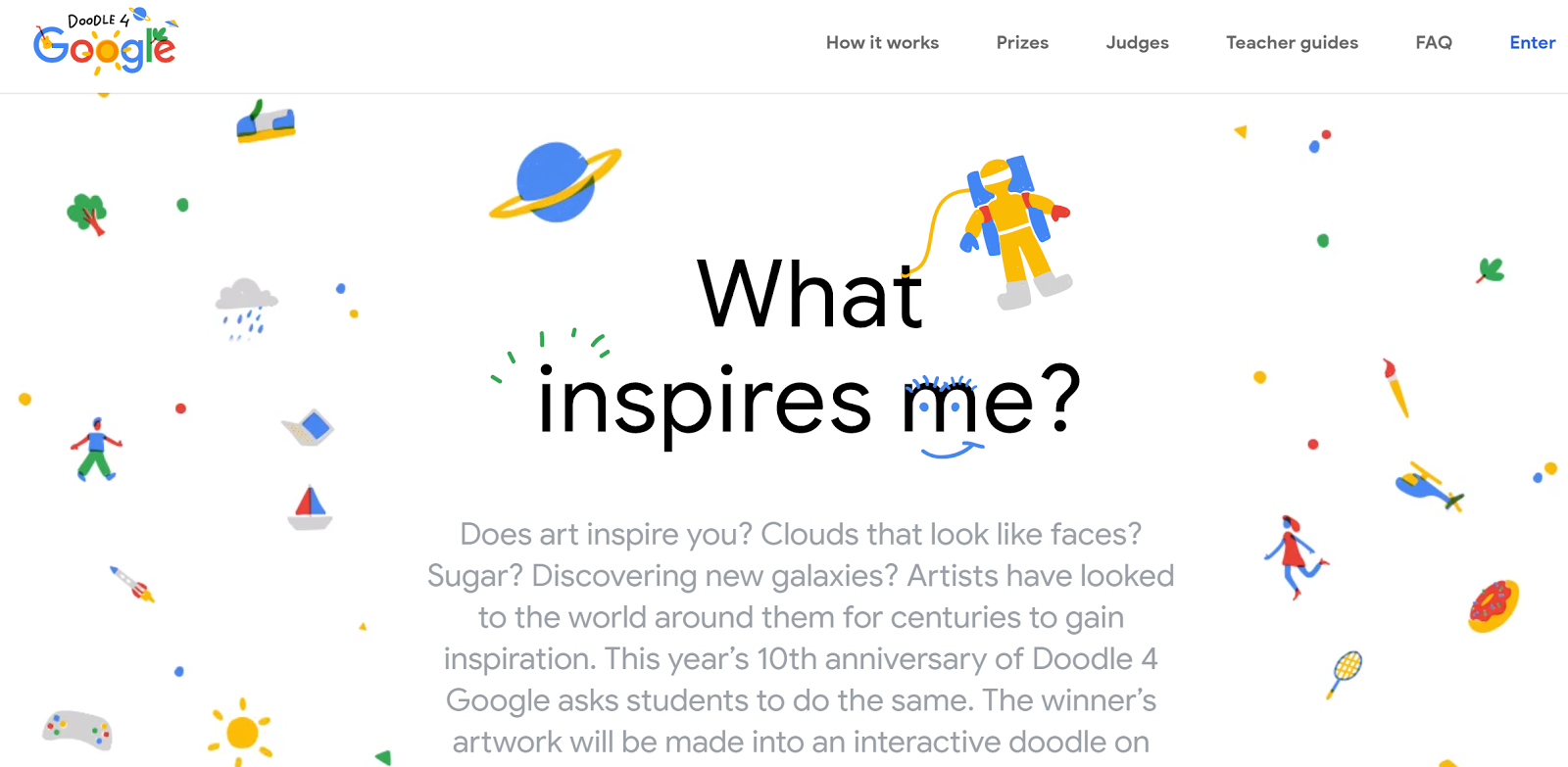 Free Technology For Teachers Doodle 4 Google Is Back For 2018