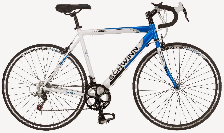 bce7ed246a0 Exercise Bike Zone: Schwinn Men's Volare 1300 700C Drop Bar Road ...