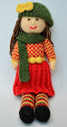 Autumn Doll Knitting Pattern