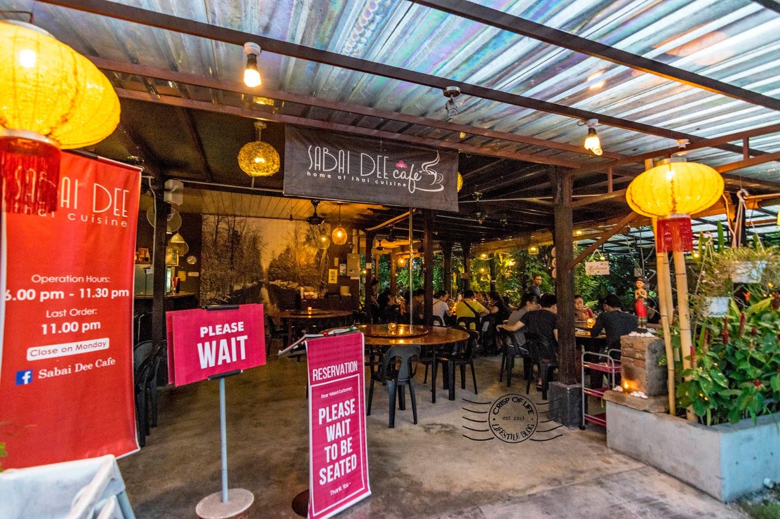 A Garden Thai Restaurant @ Sabai Dee Cafe, Jitra, Kedah