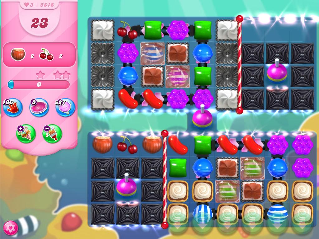 Candy Crush Saga level 3818