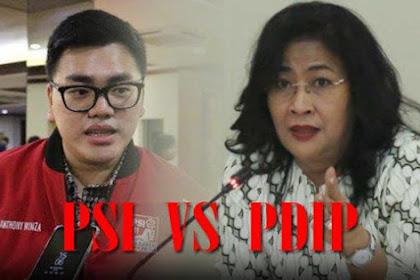 Tidak Kapok Buat Gaduh, Politisi PSI Akhirnya Kena Semprot Politisi PDIP