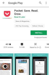 Blogging app
