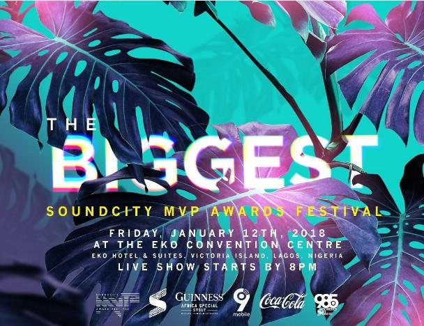 Davido & Maleek Berry Win Big At The Soundcity MVP Award Festival + Full List of Winners