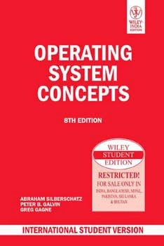 Operating System Concepts By Abraham Silberschatz ..,