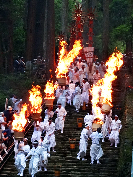 Nachi Fire Festival at Kumano Nachi Grand Shrine, Wakayama Pref.