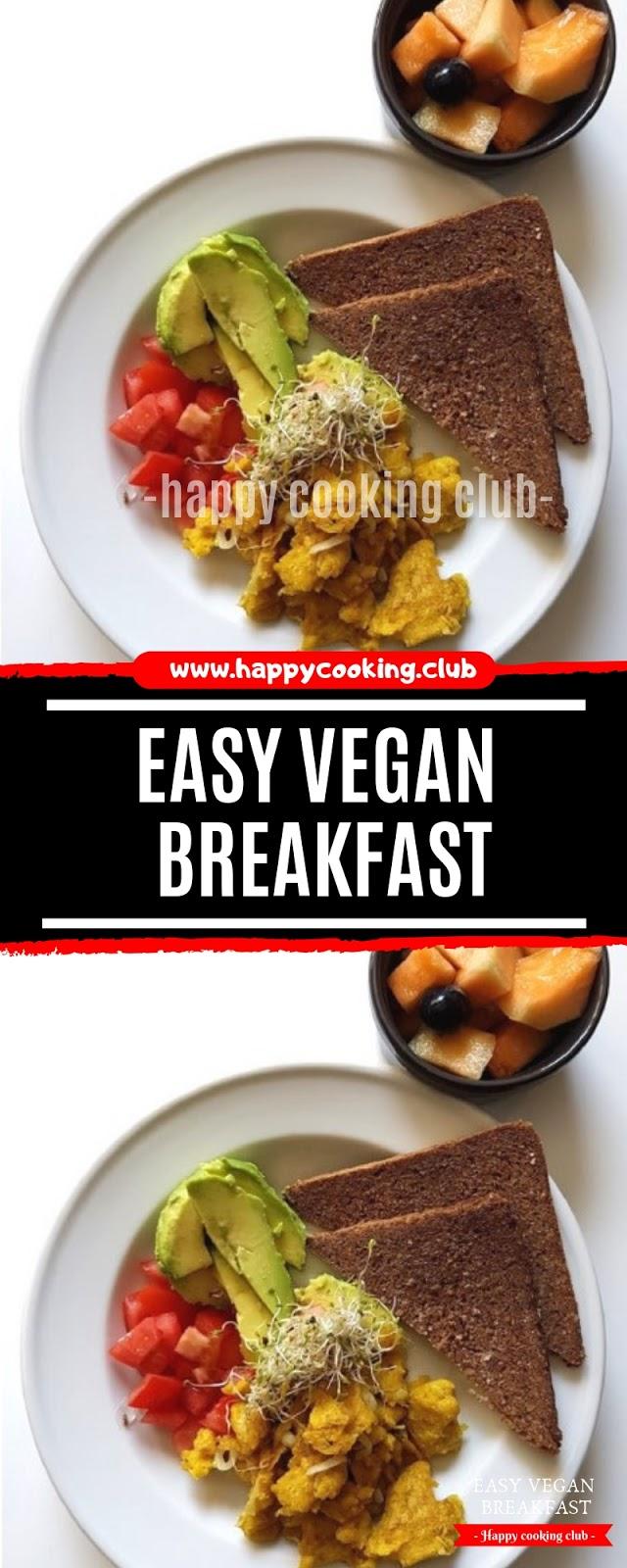 Easy Vegan Breakfast