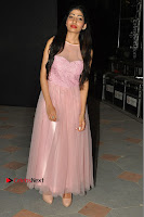 Actress Nidhisha Reddy Pos in Beautiful Pink Dress at Virus Telugu Movie Audio Launch .COM 0044.JPG